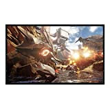 72-300'' Projector Screen 16:9/4:3 Projector HD Screen Portable Rear Projection Screen PVC Material (200 inch, 16:9)