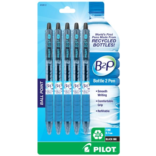 Pilot B2P Retractable Recycled Bottles
