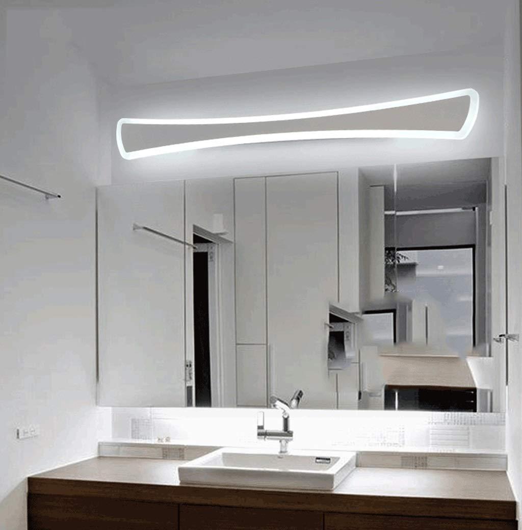 HARDY-YI Spiegel Frontleuchte Led Bad Badezimmer Spiegel Kabinett Licht Acryl Kosmetikspiegel Licht Wasserdichte Anti-Fog-lampen