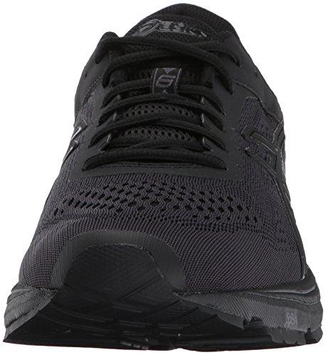 Gt-1000 Asics De Los Hombres 6 Zapatilla De Running Negro / Negro / Plata Liquidación Fake z7anP3Pi