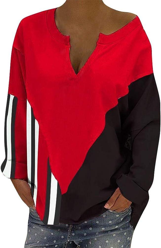 huichang - Camisa de Manga Larga para Mujer (Irregular, para otoño e Invierno) XXL XXL: Amazon.es: Ropa y accesorios