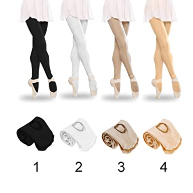 4a912f0276468 ShenYo l Black Ladies Ballet Tights New Ballet Dance Tights Footed Seamless  Dancewear for Childrens Girls and WomenLBlack: Amazon.in: Clothing &  Accessories