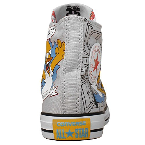 Converse Chucks All Star Bestellnummer 146808 Gr.: EU: 38 UK: 5,5 Color: Grau Limited Edition THE SIMPSONS