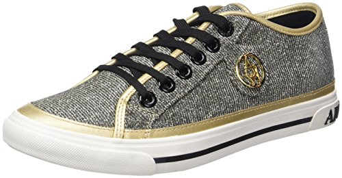 Oro Da Donna Ginnastica Basse gold Scarpe Armani 9252267p615 Jeans 7q1t0t