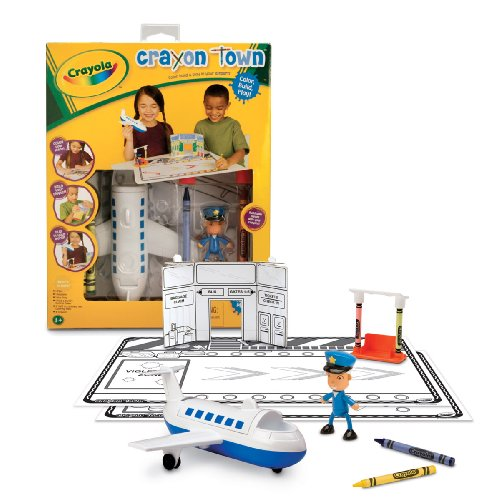 Crayola Crayon Town - Airport (Lets Make A Deal Props compare prices)