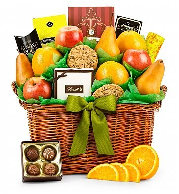 Five Star Fruit Gift Basket (Deliverable Gift Baskets)