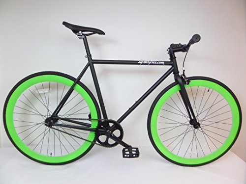 Sgvbicycles Matte Black Lime