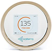 Air Quality Monitor LaserEgg 2+ knows what´s in the Air your breathe. Monitor your indoor air quality with an additional TVOC detector! With HomeKit integration, integrated display and free apps