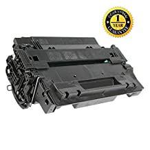 SaveOnMany ® HP 55X CE255X - 12.5K Pages High Yield of 55A CE255A - Black BK HP55X HP55A New Compatible Toner Cartridge For LaserJet P3015X/P3010/P3015/P3015n/P3015D/P3015DN, Pro MFP M521dn/M521dw, Enterprise 500 MFP M525dn/M525f, Enterprise flow MFP M525c