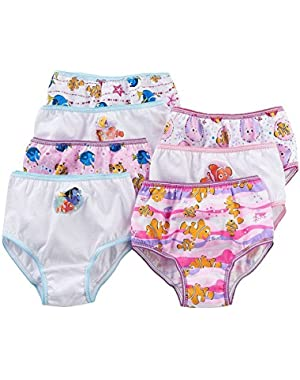 Finding Dory Nemo Toddlers Girl Panties 7 Pair