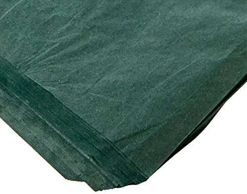 Hunter Green Tissue - Forest Green Tissue Paper 15 Inch X 20 Inch - 100 Sheets