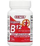 Deva Vegan B12 Fast Dissolve 90 Tablets (1 Pack)