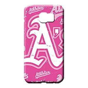 samsung galaxy s6 Compatible mobile phone skins Protective Beautiful Piece Of Nature Cases Protection oakland athletics mlb baseball