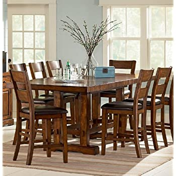 Amazon Com Steve Silver Company Zappa Dining Table With