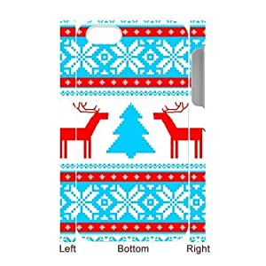 Customized Durable Case for Iphone 4,4S 3D, Christmas Tree Phone Case - HL-499390