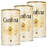 Caotina blanc, Cocoa Powder with White Swiss Chocolate, Hot Chocolate, 3 Pack, 3 x 500g