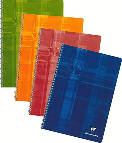 Clairefontaine Wireound Book 8 25X11 75 Graph