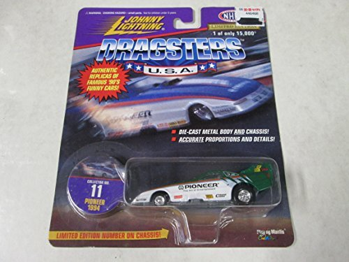 Johnny Lightning Dragsters Pioneer 1994 No. 11 by Johnny Lightning