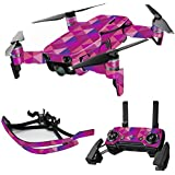 MightySkins Skin For DJI Max Coverage - Pink Kaleidoscope | Protective, Durable, and Unique Vinyl Decal wrap cover | Easy To Apply, Remove, and Change Styles | Made in the USA