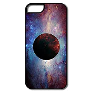 PTCY IPhone 5/5s Customize Funny Red Planet