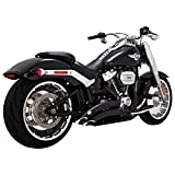 Vance & Hines 46075 BIG RADIUS 2-2 FAT BOY 18-UP BLK