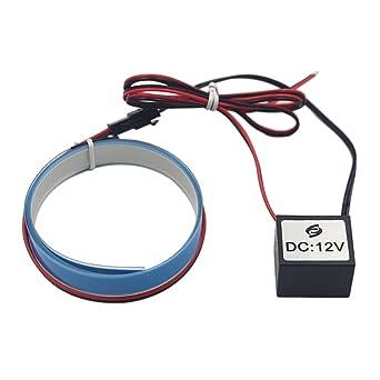 12v Elektrolumineszenz Panel El Band leuchtschnur Zurück Licht 6 ...