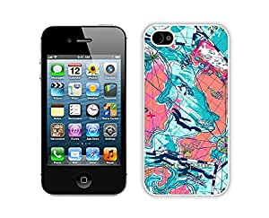 Customize iPhone 4s Protective Skin Kate Spade New York Durable iPhone 4 4s Phone Case 33 White