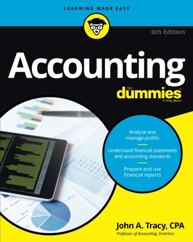 Accounting For Dummies (For Dummies (Business & Personal Finance)) (Cash On Balance Sheet Or Income Statement)