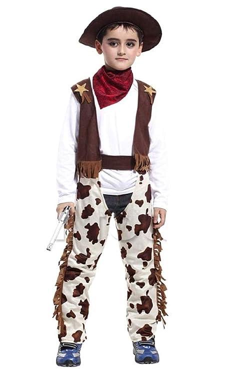 Disfraz de vaquero disfrazado de niño carnaval talla m 110/120 cm ...