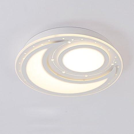 Salón dormitorio de cama luz de techo acrílico simple ...