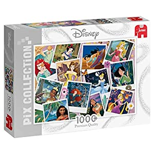 Jumbo 19763 Disney Pix Collection Princess Selfies Puzzle 1000 Pezzi