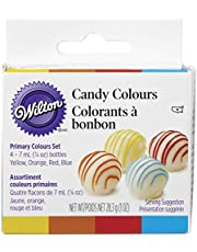 Wilton Candy Decorating Primary Colours Set, 14.1g (0.5oz) jars, pack of 4