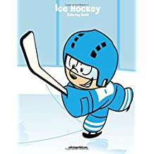 Ice Hockey Coloring Book 1