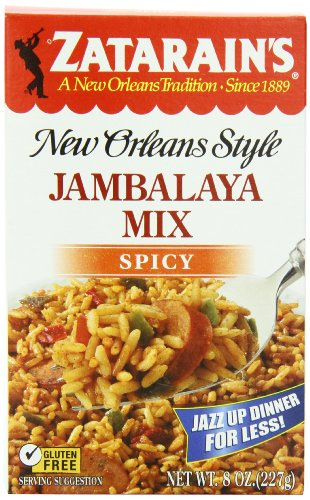 ZATARAIN'S Jambalaya Mix, Spicy, 8-Ounce (Pack of 6) (Mix Rice Jambalaya)