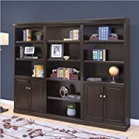 Kathy Ireland By Martin Fulton Office 3 Piece Wall Bookcase Set