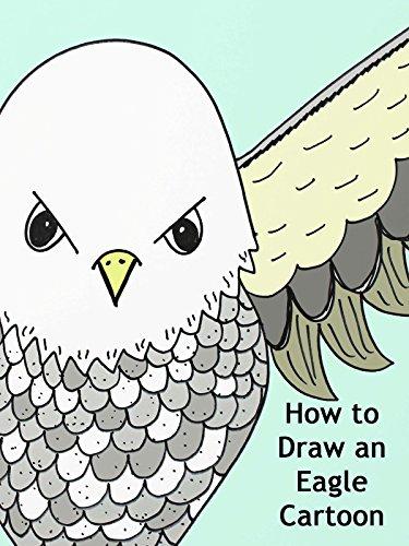 how to draw a cartoon eagle - 5