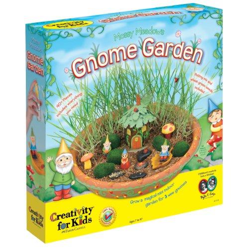 [Creativity for Kids Mossy Meadows Gnome Garden Kit] (Pet Ladybug Costume)