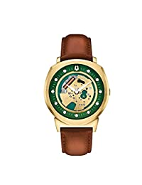 Bulova Men's Accutron II 97A110 Brown Leather Quartz Watch
