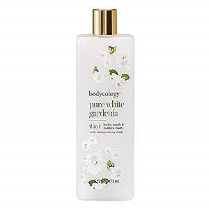 Bodycology Pure White Gardenia Foaming Body Wash (1 Unit),16 Ounces