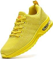 Damyuan Zapatillas de deporte para mujer, con cojín de aire, para caminar, casual, para correr, gimnasio, depo