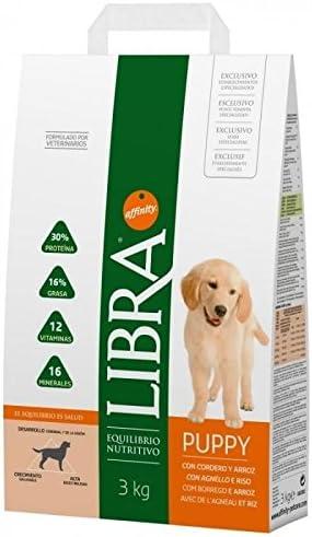 LIBRA Canine Puppy Cordero 3KG, Negro, 3