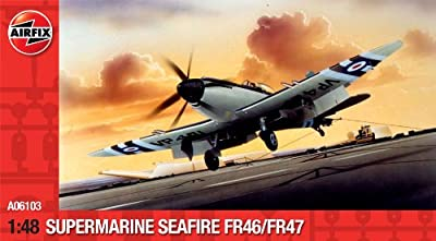 Airfix 1:48 Supermarine Seafire FR 46/FR 47 (A06103)