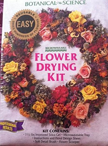 Gel Flowers Drying Silica - Botanical Science Flower Drying Kit