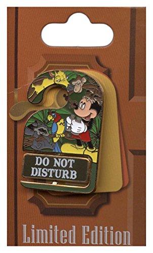Disney Pin - WDW Resorts - Do Not Disturb - Disney's Animal Kingdom Lodge