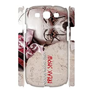 C-QUE American Horror Story Customized Hard 3D Case For Samsung Galaxy S3 I9300