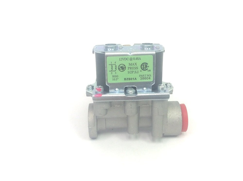 Atwood 31150 OEM RV Hydro Flame Heater Furnace Side Outlet Valve - 12V DIS Furnace Gas Valve 4333081634