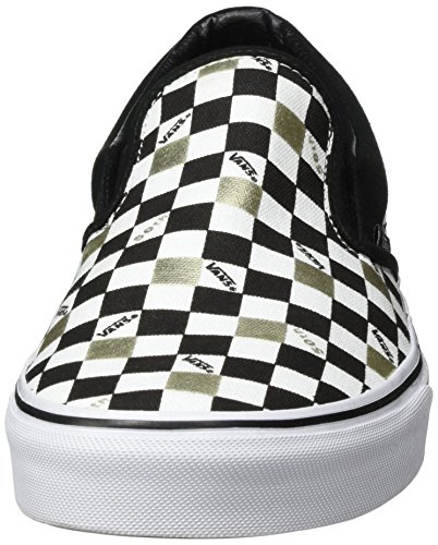 Vans - Era 59 - Zapatillas Unisex para adulto Negro/Dorado (Black/Gold Checkered)