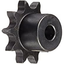 Martin Roller Chain Sprocket, Reboreable, Type B Hub, Single Strand, 08B Chain Size