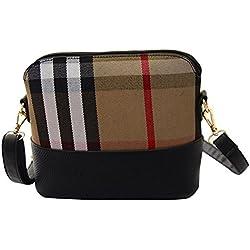 niceEshop(TM) Women Messenger Bags Vintage Small Shell Handbag Casual Shoulder Bag Khaki
