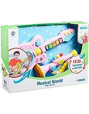 Junecca Toys 2816-1 Guitar and Trumpet Set